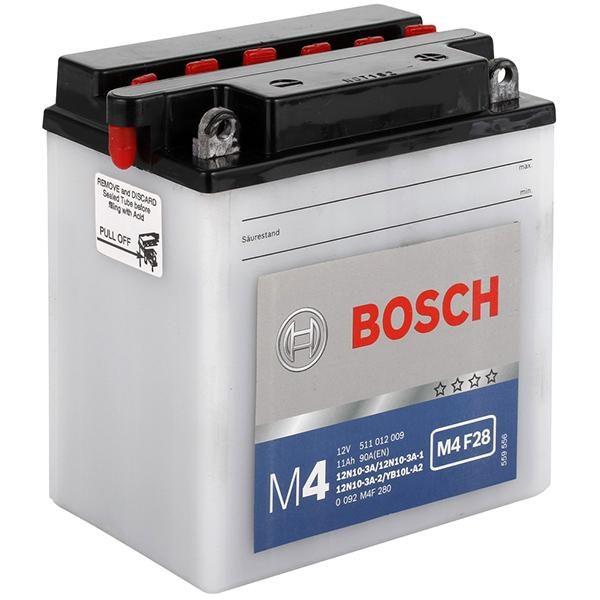 Bosch 11 Ач M4F 28 (YB10L-A2)