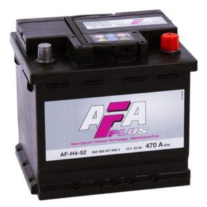 AFA Plus  52 Ач