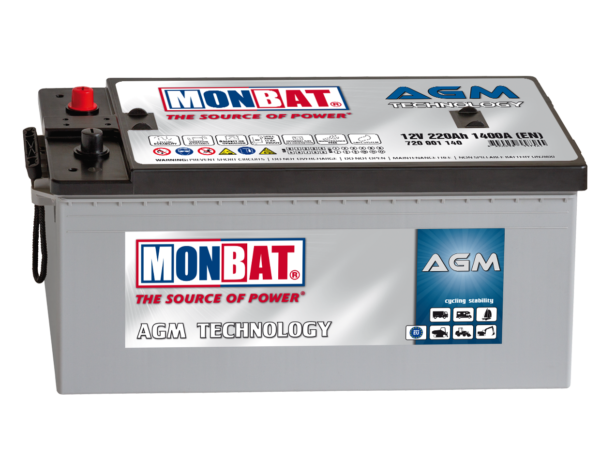 Monbat AGM  Deep Cycle 220 Ач