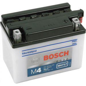 Bosch 4 Ач M4F 17 (YB4L-B)