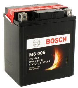 Bosch 6 Ач M60 06 (YTX7L-BS)