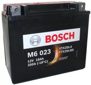 Bosch 18 Ач M60 23 (YTX20L-BS)