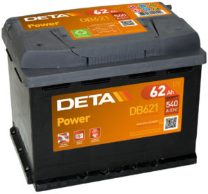 Deta Power 62 Ач L+
