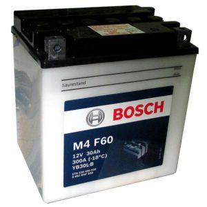 Bosch 30 Ач M4F 60 (YB30L-B)