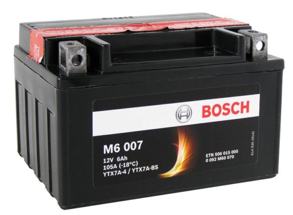Bosch 6 Ач M60 07 (YTX7A-BS)