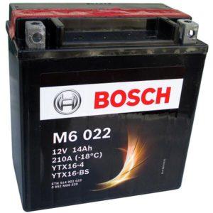 Bosch 14 Ач M60 22 (YTX16-BS)