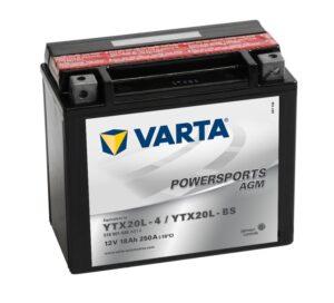 Varta 18 Ач (YTX20L-BS) AGM