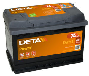Deta Power 74 Ач L+